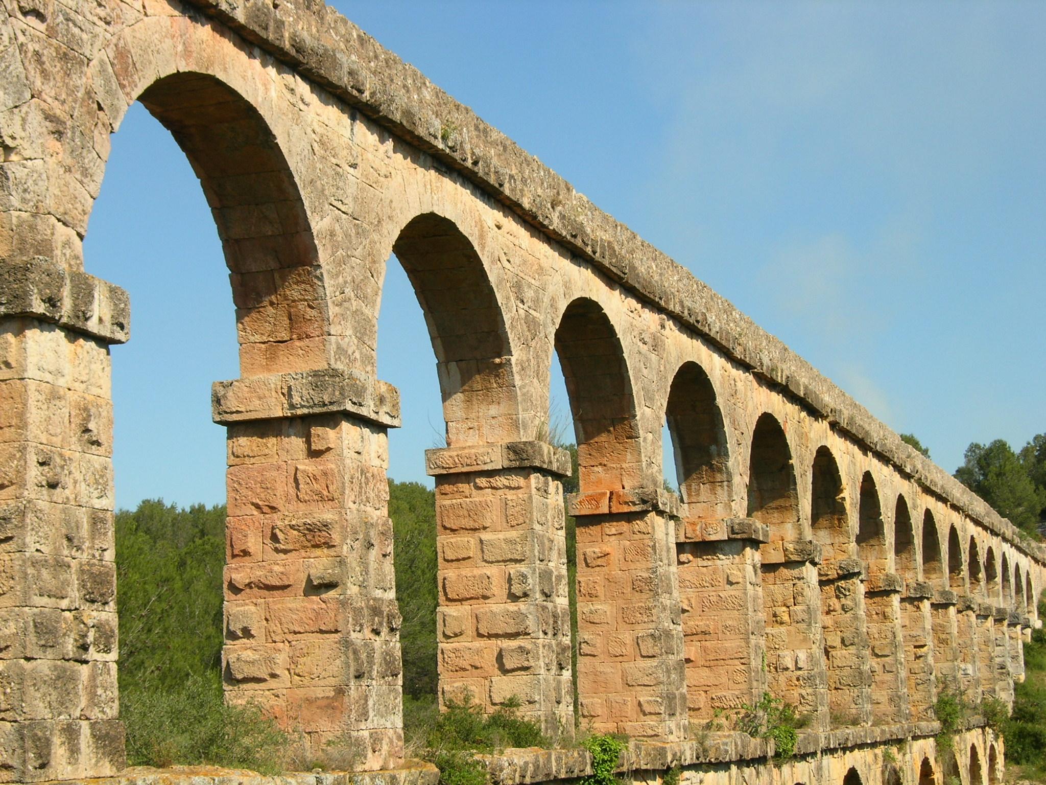 Aqueducte roma de les Ferreres